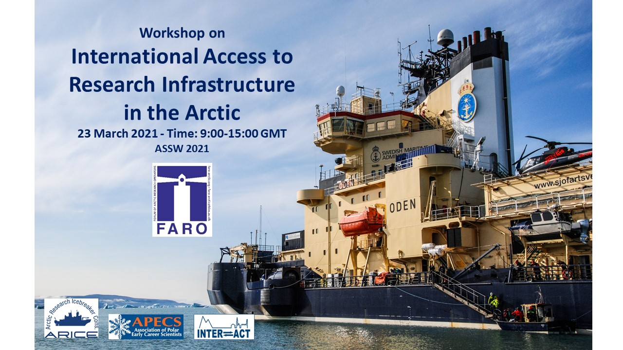 Workshop on International Access to Research Infrastructure in the Arctic